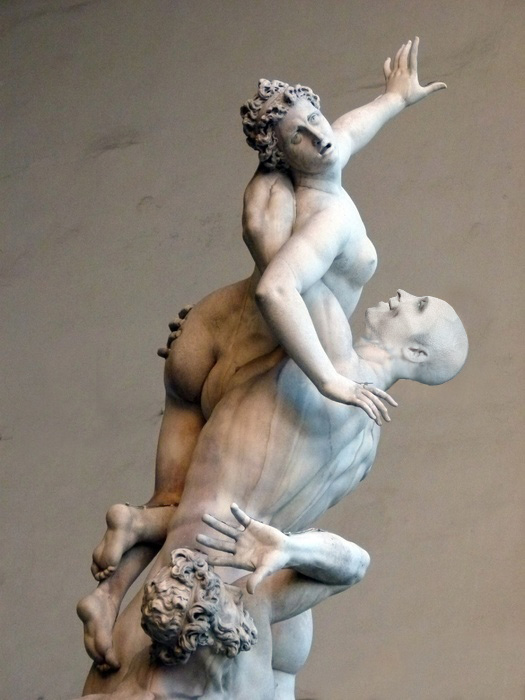 Giambologna's Rape of the Sabine Women