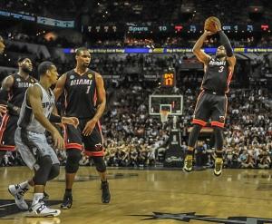 Wade's jumper was impressive in 2013-14.